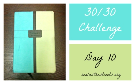 women's devotional bible #3030challenge